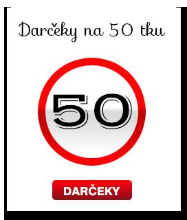 Darek k 50 narodenin m Netradin dareky, origin lne