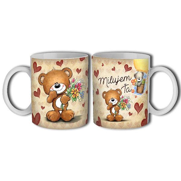 3a0291dffbad Valentínske darčeky – Hrnček Milujem Ťa