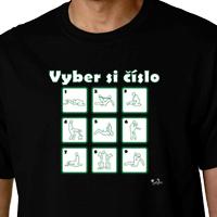 7d2e6f946077 Vtipné tričká - Vyber si číslo - kamasutra empty