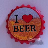 Vtipné magnetky- i love beer