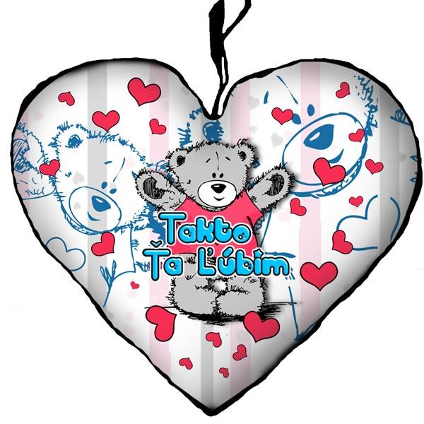 955f8a0a5dea Valentínske darčeky – Vankúš Takto Ťa ľúbim 23cm empty